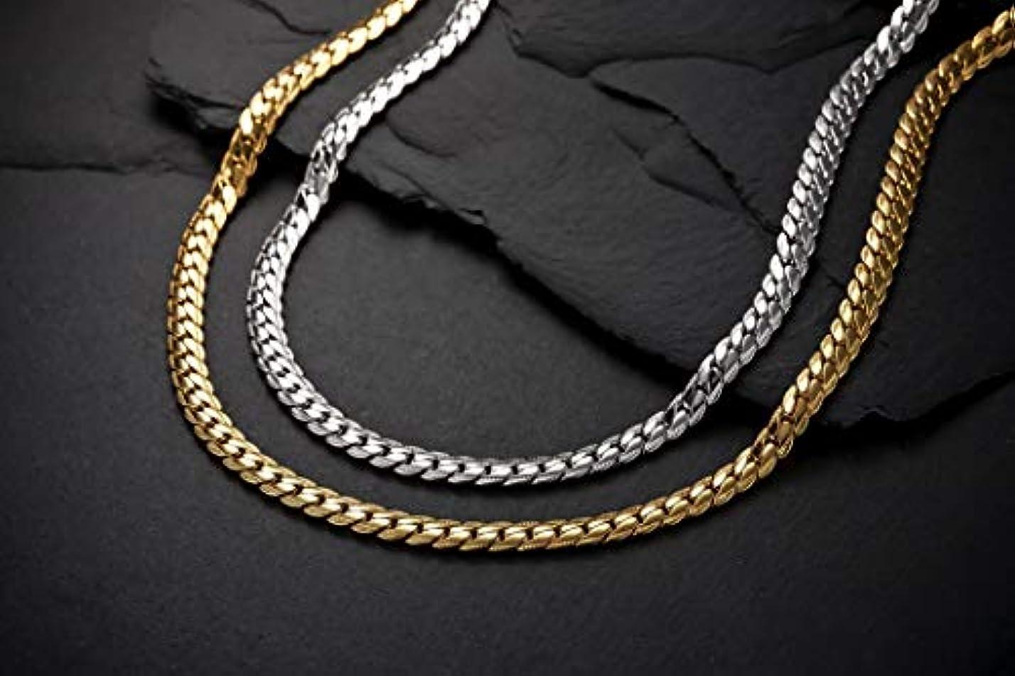 どうやらシャーロックホームズヘリンボーン ペレバレンチノ 天然ダイヤモンド磁気ネックレス (ゴールド、Mサイズ)