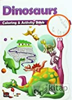 COLOURING & ACTIVITY BOOK:-DINOSAURES
