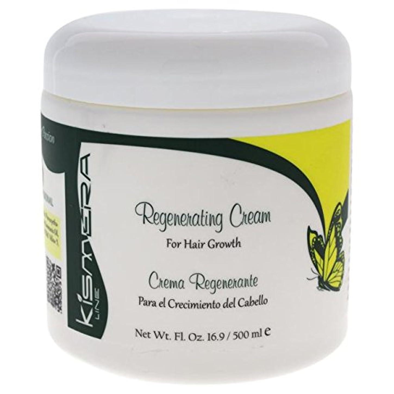絶滅させる賞賛するマオリKismera Regenerating Cream for Hair Growth 16.9oz by KUZ