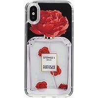 [アイフォリア]Amazon公式 正規品 iPhone X対応 Parfum Flower Red for iPhone X 14574