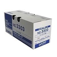 カモ井 シーリング用紙粘着テープ 24ミリ×18M 50巻入