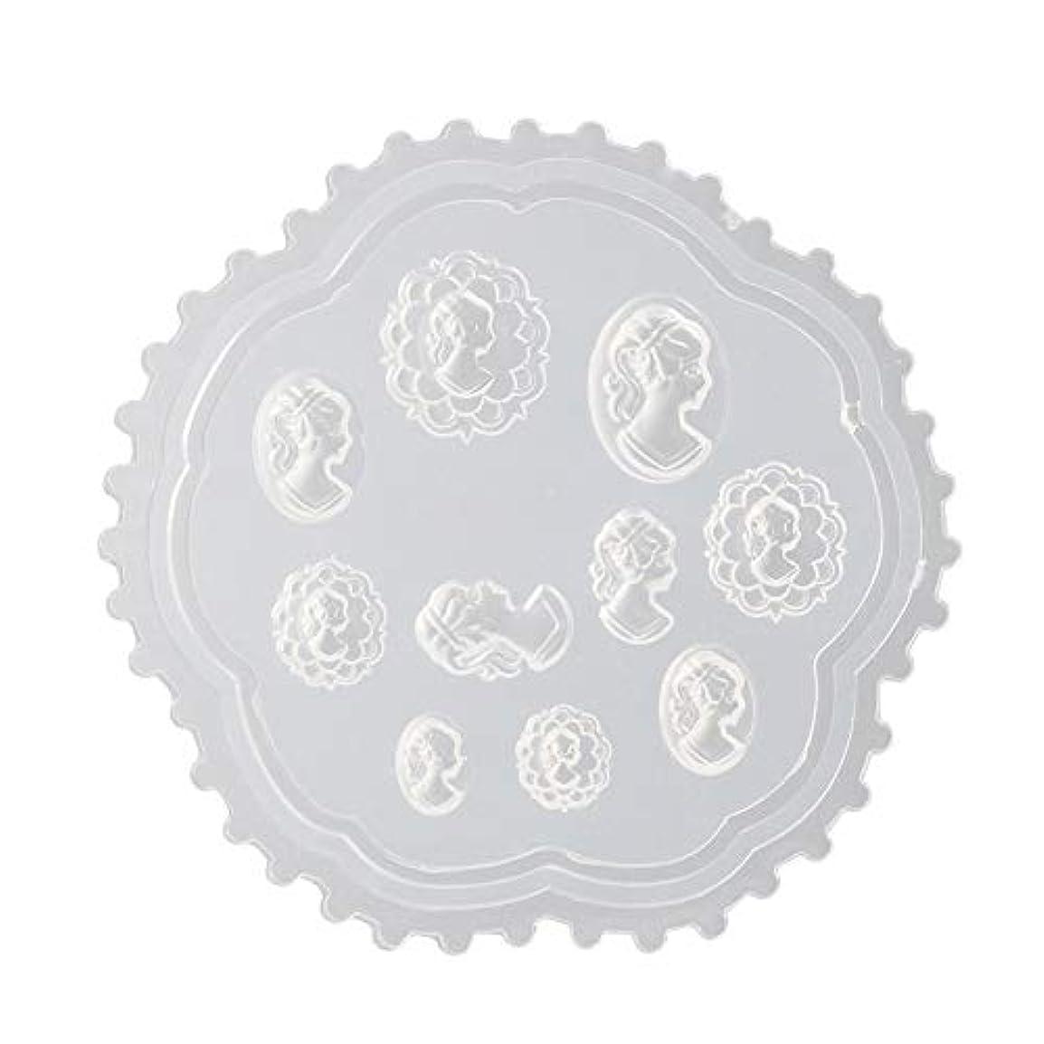石炭彼らのエスカレートLindexs 3Dシリコンモールド ネイル 葉 花 抜き型 3Dネイル用 レジンモールド UVレジン ネイルパーツ ジェル ネイル セット アクセサリー パーツ 作成 (2#)