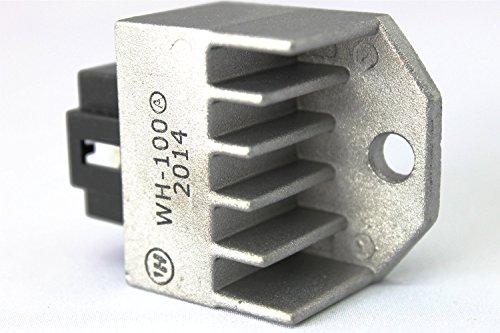 【ノーブランド品】 愛車のメンテに 12V レギュレーター ホンダ モンキー DIO リード TODAY カブ マグナ JAZZ NSR50 などに バッテリー 端子 2個付き