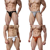 MuscleMate Premium Men's Jockstrap Men's Hot Thong Underwear Low Raise, Comfort,