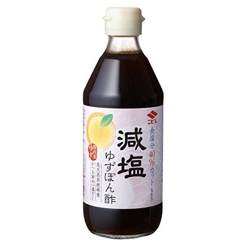 ニビシ醤油『減塩ゆずぽん酢』