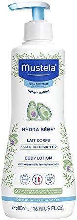 Mustela Hydra Bebe Body Lotion 500ml, 16.91 fl.oz