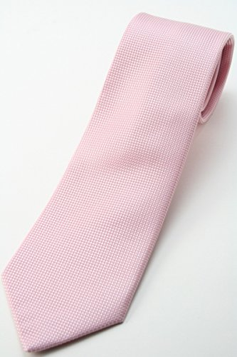 FAIRFAX『ピンク 無地ネクタイ』