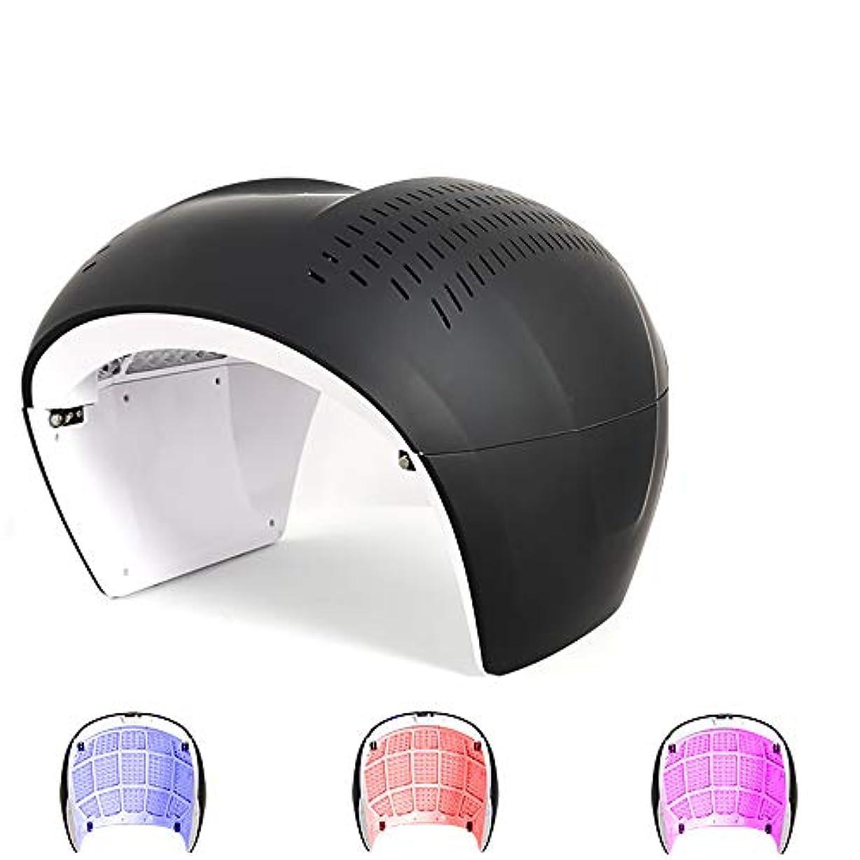 シート空日記PDT LED 3色フォトントリートメント、フェイスフォトンライトセラピーのために健康な肌の若返りコラーゲンアンチエイジングしわ瘢痕スキンケア