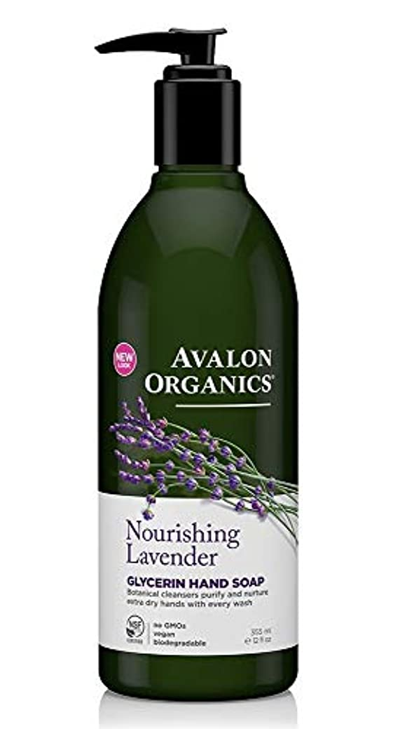 クレデンシャルブーム情熱的Avalon Organics Lavender Soap Liquid 355ml