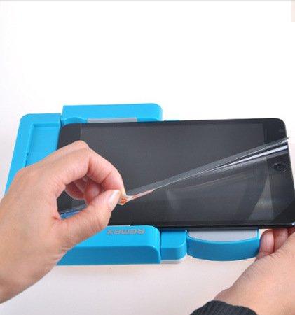 並木トレーディング 液晶保護フィルムを張る機械 保護フィルム張り お助け便利ツール IPAD1/2/3/5 NEXUS9 GalaxyTab4 並木トレーディング