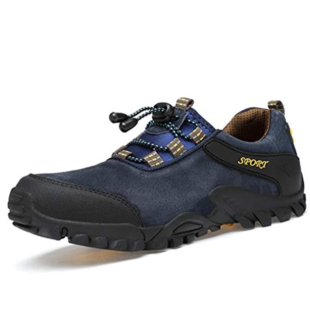 最大化する遠征増強[DOUERY LTD] 登山靴 メンズ 防水 防滑 通気性 幅広 運動 登山靴 ランニングシューズ スポーツ靴 アウトドア シューズ メッシュ メンズ スニーカー ハイキング 27cm ローカット