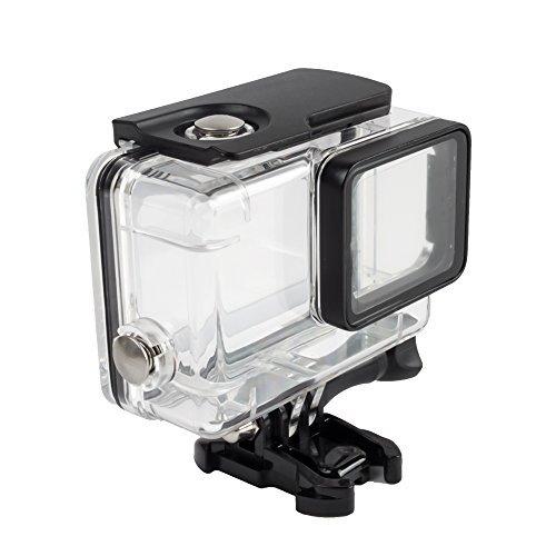 EloBeth GoPro Hero 5 防水ケース ゴープロ ヒーロー5 アクセサリー gopro hero 6(防水プロテクター透明)