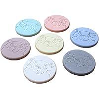 珪藻土 コースター 7色 7枚 セット くまモン柄 吸水性 のあるコースター_FH70011KM-7