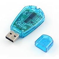 USB SIM カード リーダー/ライター/コピー/クローナー/バックアップ GSM CDMA PC ラップトップ Vista Win7