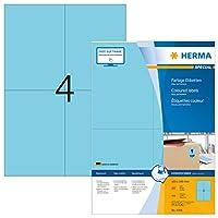 Herma 4398レーベル105 x 148 A4 400ピースブルー