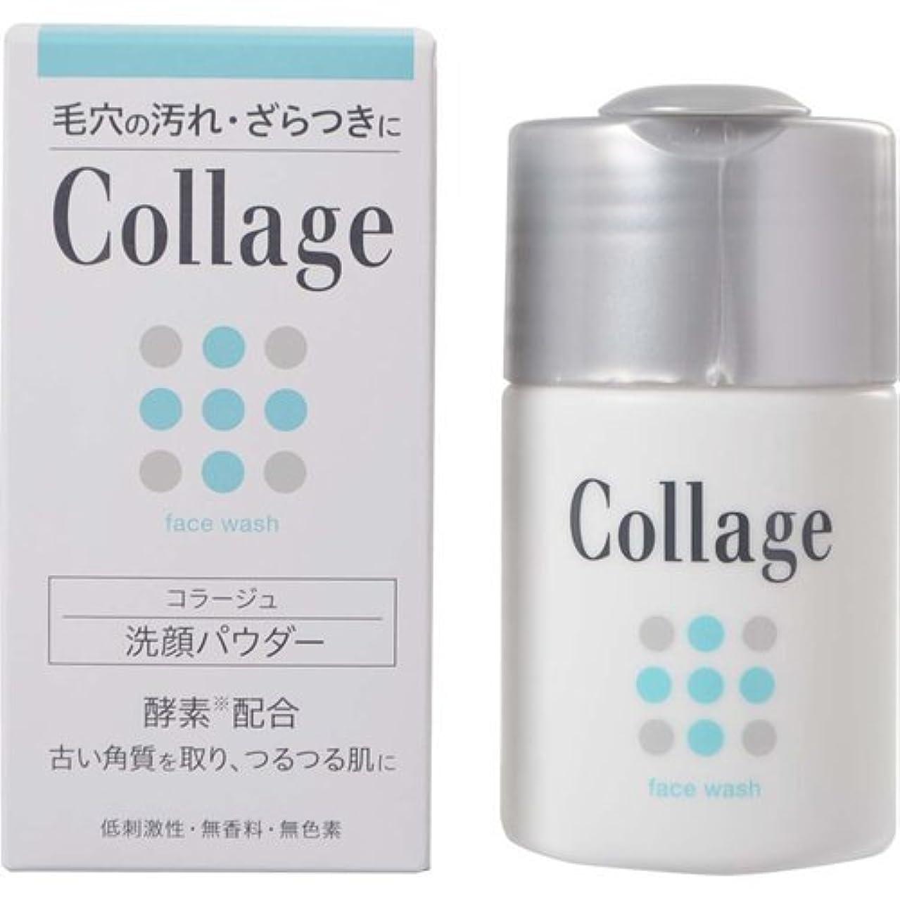 装備する商標とにかくコラージュ 洗顔パウダー 40g×6個