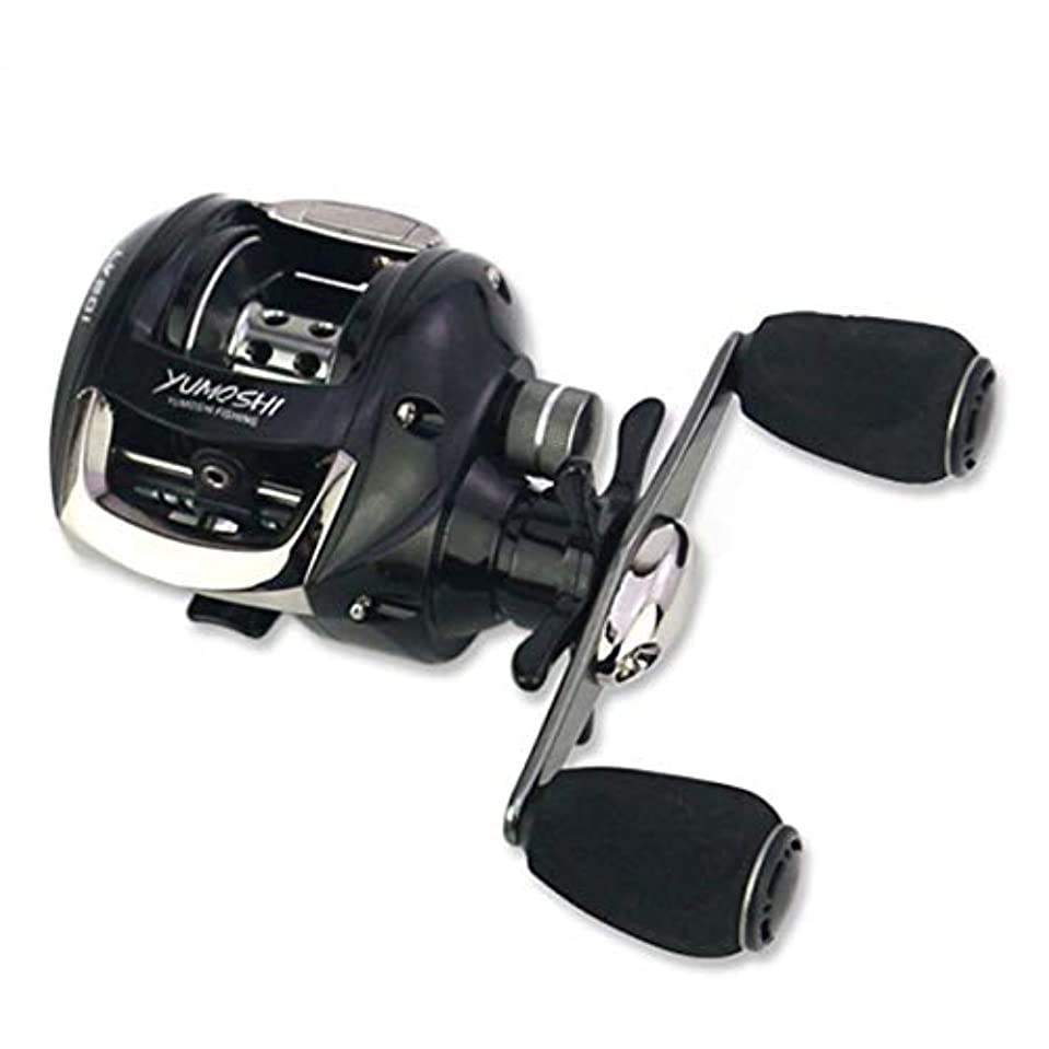 政治家分布ホースDeeploveUU 釣りリール12 + 1ボールベアリング6.2:1の速度比餌キャスティング釣りリール付きマグネットブレーキシステムLV200