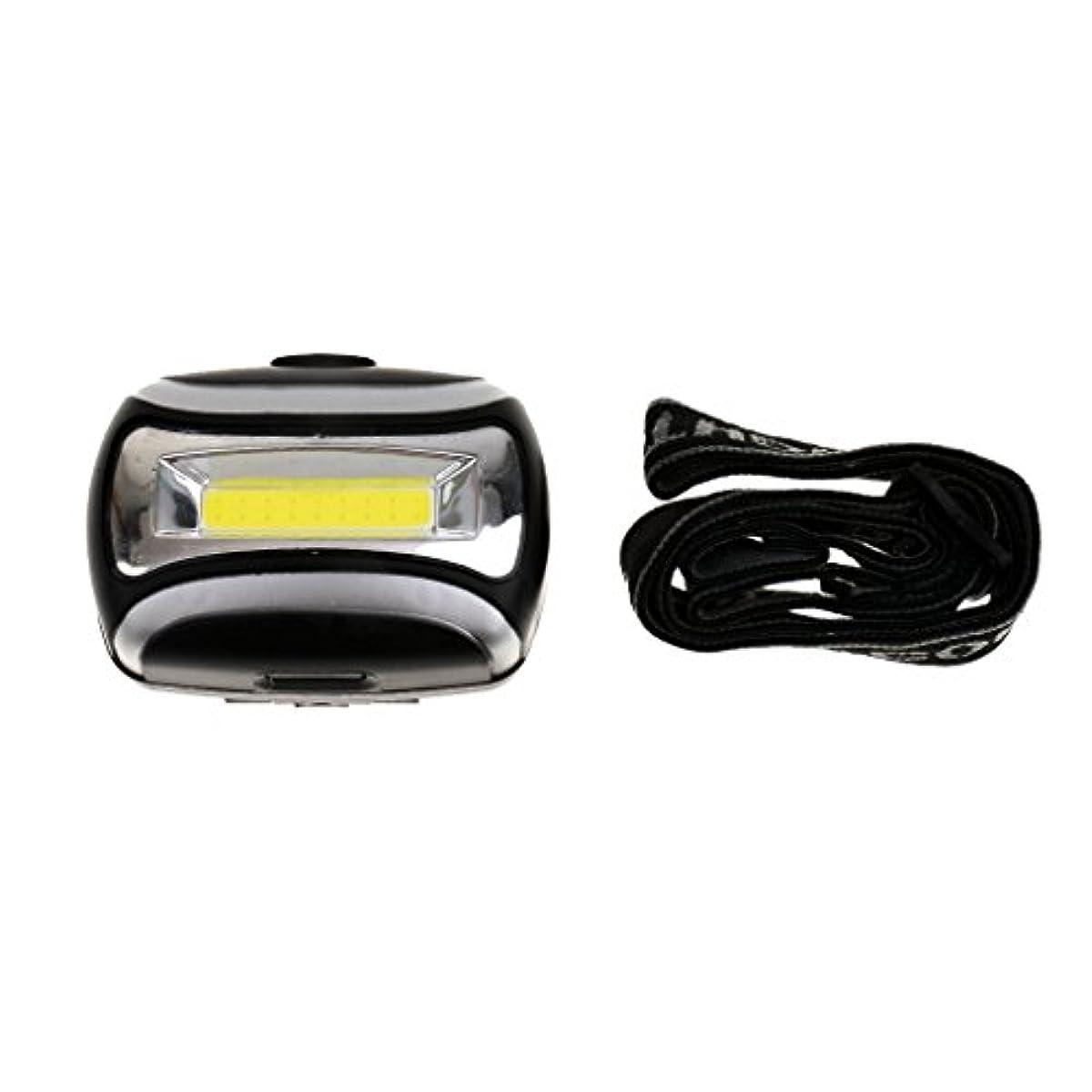 副産物店員フェミニン防水 600LM COB ヘッドライト 3W LED ライト アウトドア サイクリング ヘッド ランプ