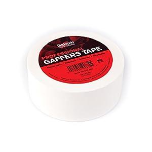 Planet Waves プラネットウェーブス ガッファーテープ Professional Gaffer Tape White PW-GTP-25W 50mm×22m巻 【国内正規品】