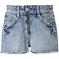 Funky Buddha Denim Shorts In Used Look