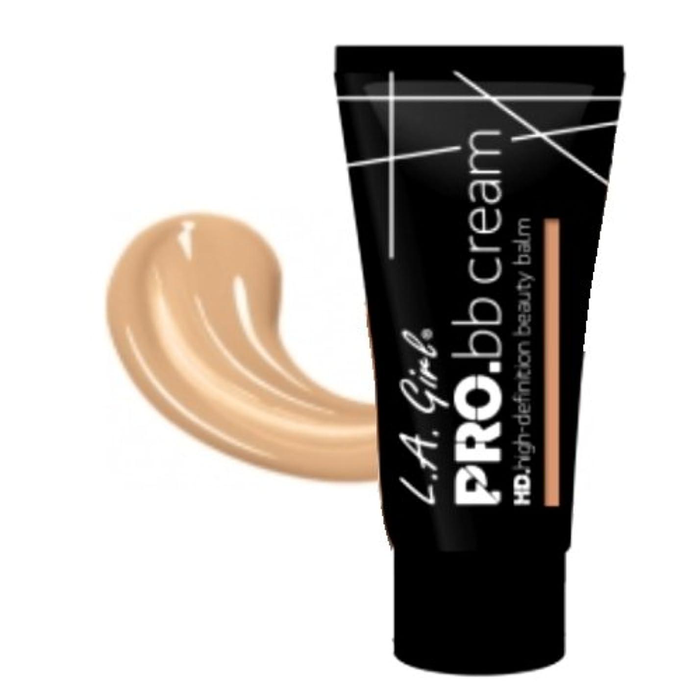時間高価な負担(3 Pack) LA GIRL HD Pro BB Cream - Fair (並行輸入品)