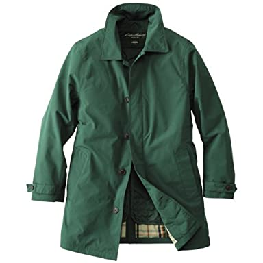 Eddie Trench Coat 678904: Dark Emerald