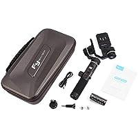 Funnyrunstore FeiyuTech G6 Plus 3軸ハンドヘルドジンバルスタビライザーGoPro HERO / Sony RX100 / Canon M10カメラ用スマートフォン(ブラック)用WiFi Bluetooth