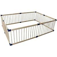安全フェンス、室内ベビークロウリング幼児フェンス子供の遊びフェンスベビーホームソリッドウッドセーフティフェンス (サイズ さいず : 120 * 180cm)