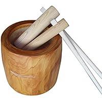 欅 本格餅つき臼 2尺(5升)大小杵セット
