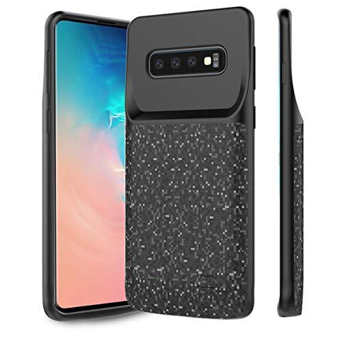 Happon Samsung Galaxy S10 Plus 5000mAh Battery 充電器ケース, 外付けポータブル充電式バッテリーパック...