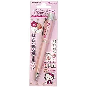 タニエバー ネームペン ハローキティ ノック式 メールパック TSK-66764 ピンク