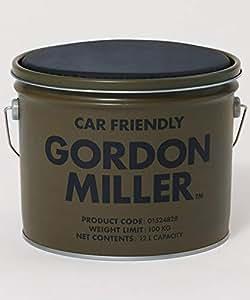 GORDON MILLER ペール缶スツール 12l チェア 椅子 スタッキング アウトドア キャンプ 収納 ガレージ 洗車 DIY 工具入れ OD カーキ 1524828