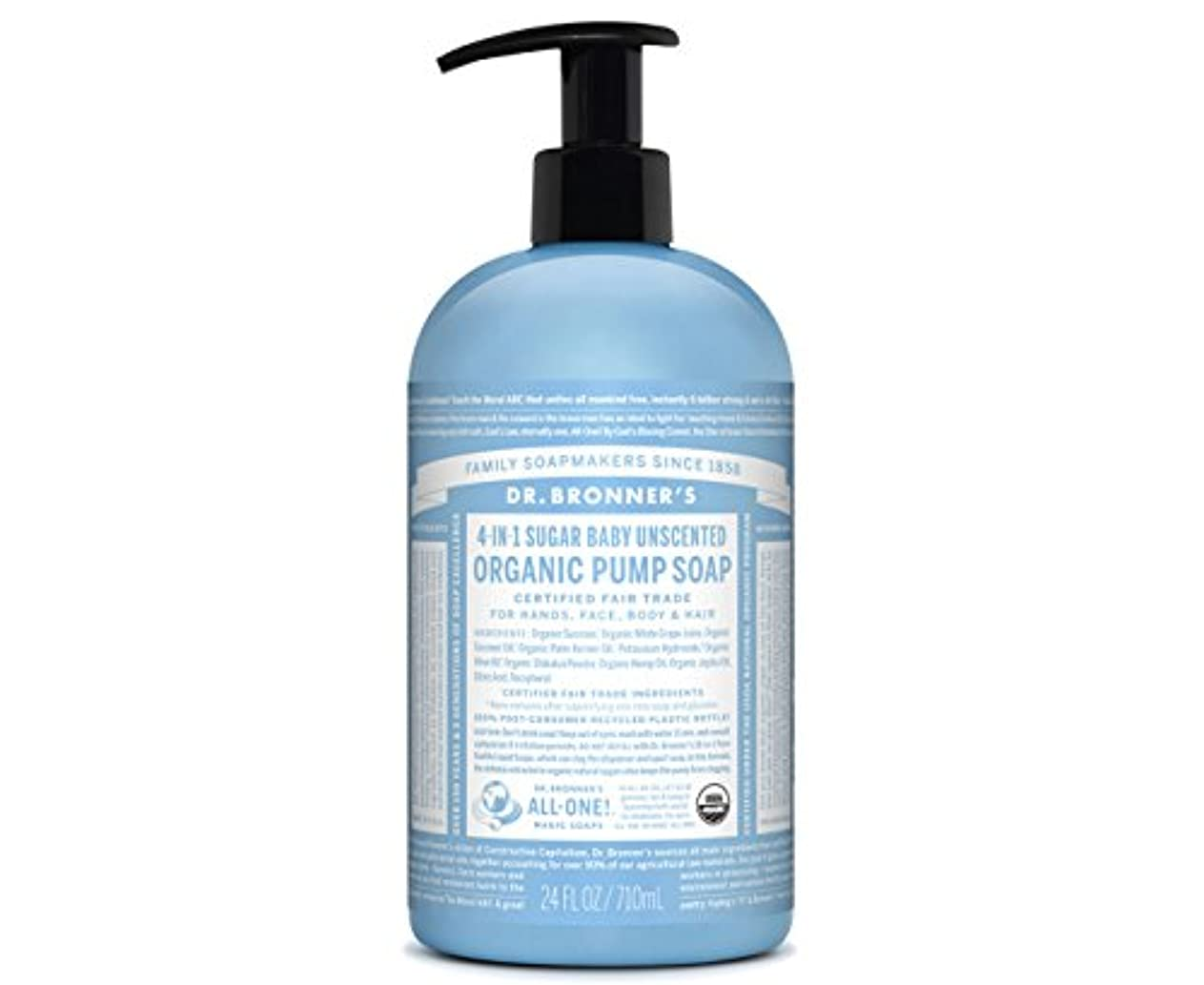 意気揚々ジョガーひいきにするDr Bronner Org Shikakai Baby Mild Soap 709 ML (order 6 for trade outer) / ????????Shikakai??????????709 ML ???...