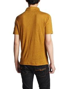 Linen Skipper Polo Shirt 1117-699-1692: Mustard