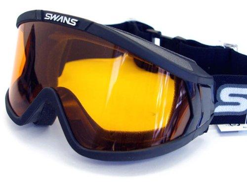 眼鏡対応 スワンズ 845H ブラック くもり止めレンズ SWANS