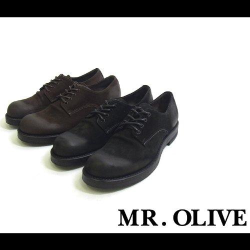 【MROLIVE(ミスターオリーブ)】ウォータープルーフポストマンブーツ 9 1/2(L)サイズ ブラック