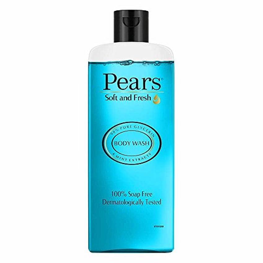 作動する言い直す鉄道Pears Soft and Fresh Shower Gel, 250ml