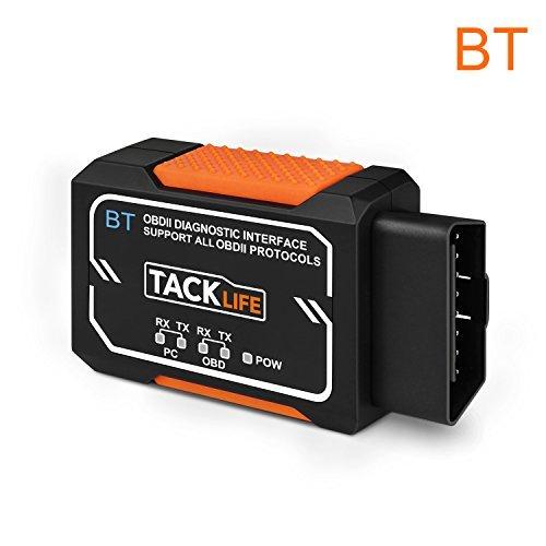 TackLife AOBD1B OBD2故障診断機 PIC18F2480マイクロコントローラ OBD...