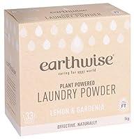 earthwise アースワイズ ランドリーパウダー 【レモン×ガーデニア】洗濯用洗剤 粉末タイプ 植物由来成分 1kg