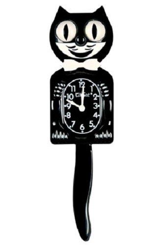 キット キャット クロック (クラシックブラック(ボータイ:ホワイト))