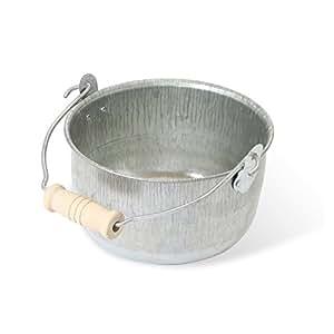 松野屋 日本製トタン豆バケツ(小)