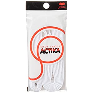 [アクティカ] 靴ひも 石目平スニーカーシューレース ホワイト 150cm