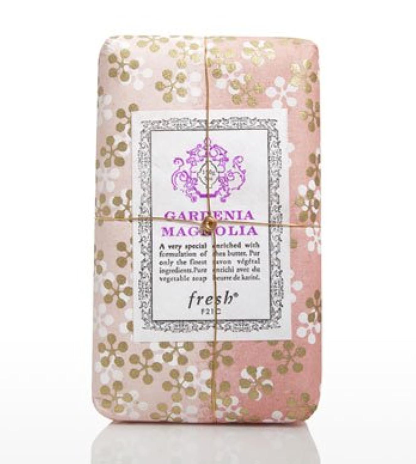 ぼんやりした豊富明らかにFresh GARDENIA MAGNOLIA SOAP(フレッシュ ガーデナマグノリア ソープ) 5.0 oz (150gl) 石鹸 by Fresh
