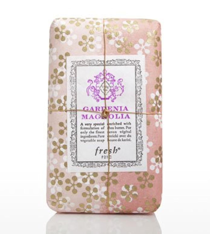 たっぷり実現可能資本Fresh GARDENIA MAGNOLIA SOAP(フレッシュ ガーデナマグノリア ソープ) 5.0 oz (150gl) 石鹸 by Fresh