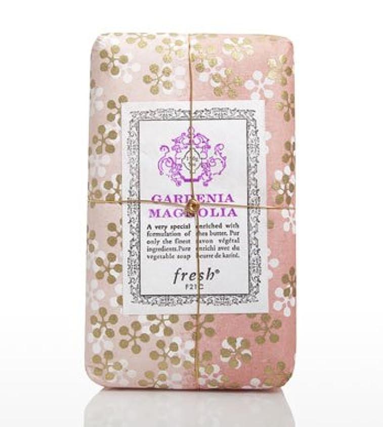 刈る雑草誇張Fresh GARDENIA MAGNOLIA SOAP(フレッシュ ガーデナマグノリア ソープ) 5.0 oz (150gl) 石鹸 by Fresh