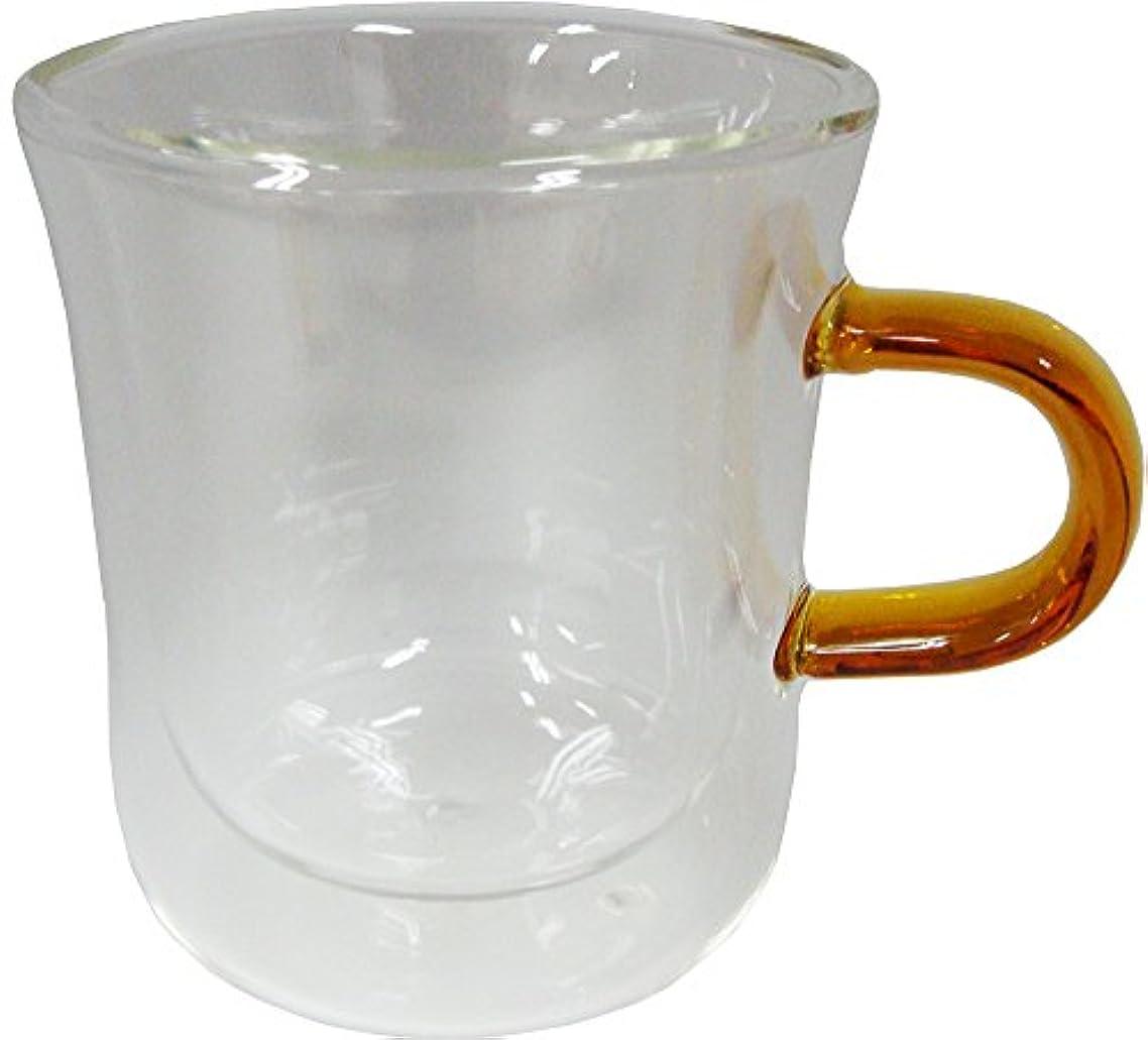 注釈マントル繕うbonmac ボンマック ダブルウォールマグ 耐熱 ガラス製 260ml