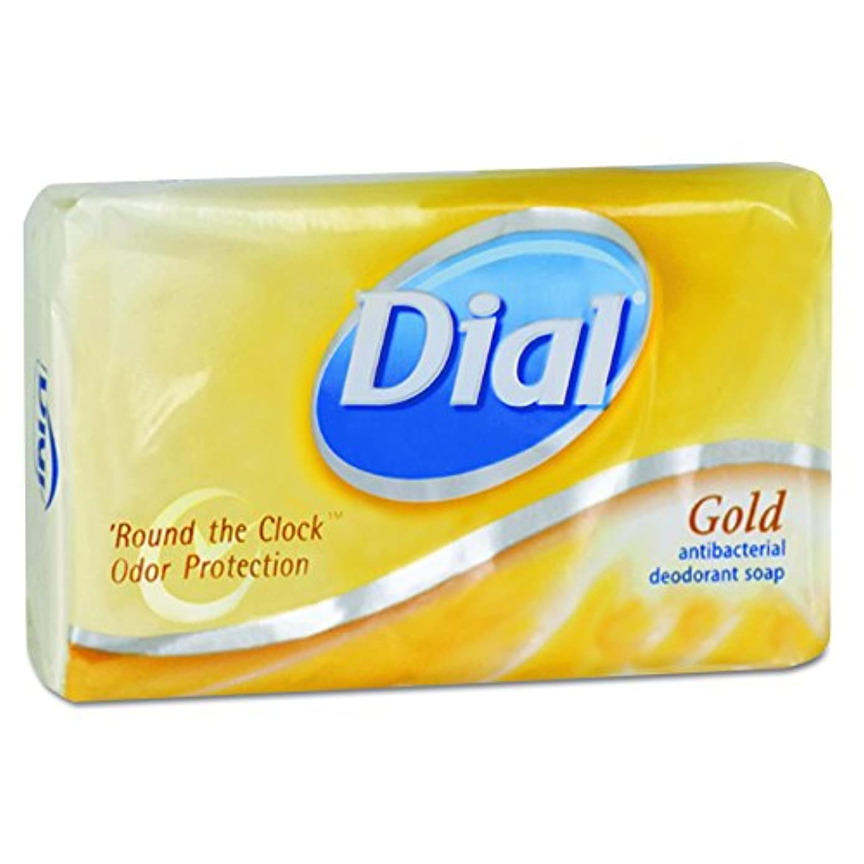 贅沢公平な嫌がらせDial 00910CT Gold Bar Soap, Fresh Bar, 3.5oz Box (Case of 72) by Dial