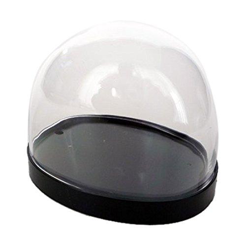 スノードーム自作キット プラ製・黒だ円型
