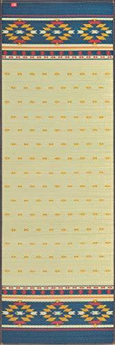 イケヒコ 国産い草使用 インストラクター公認 ヨガマット 「畳ヨガ」 約60×180cm アース NV 1枚