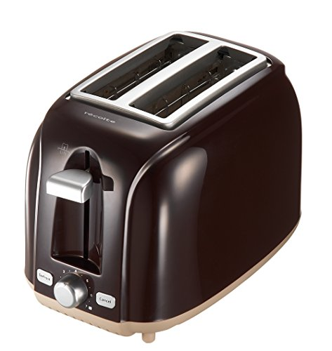 recolte POP UP TOASTER Matin RPT-1 (ビターブラウン)